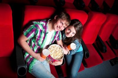 تذكرة سينما إلى فيلم رومانسي