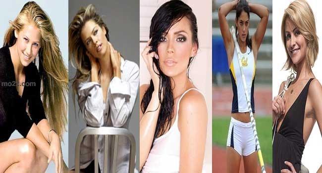 النساء الخمس الأكثر جمالاً في عالم الرياضة
