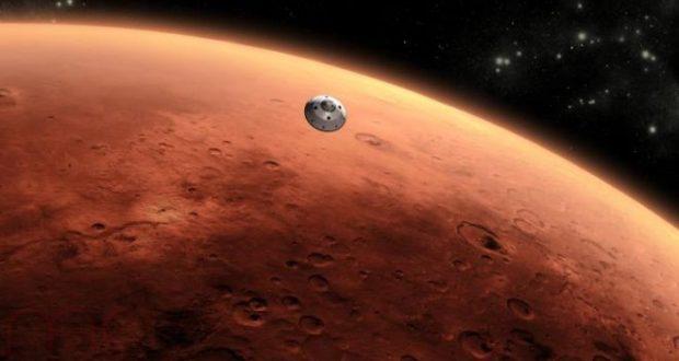أدلة وجود الماء على المريخ - المصدر: NASAJPL-Caltech