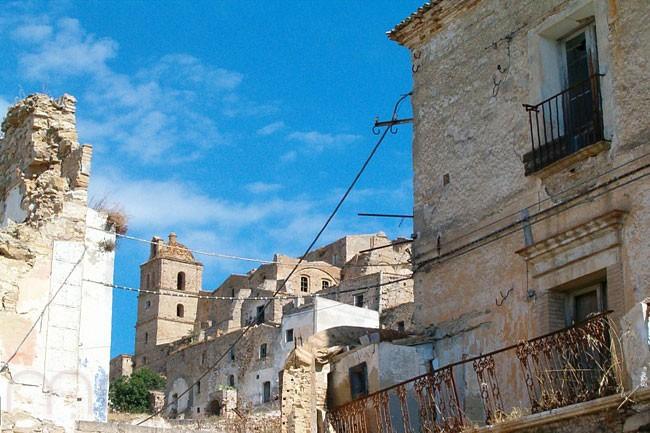 بلدة كراكو المهجورة في إيطاليا