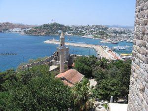 مدينة بودروم  الساحلية في تركيا