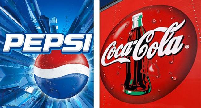 حرب الكولا بين بيبسي وكوكاكولا