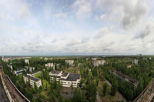 مدينة بريبيات المهجورة بأوكرانيا