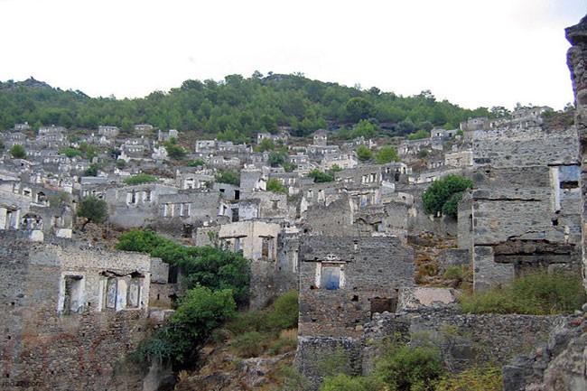 مدينة كاياكوي - مدينة مهجورة بتركيا