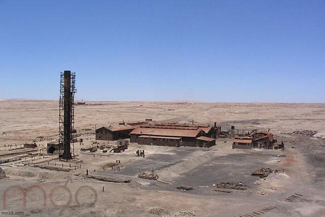 هامبرستون في صحراء تشيلي