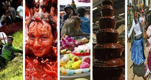 الأعياد و المهرجانات الخمس الغريبة العجيبة حول العالم