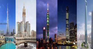 رحلة إلى خمسة من أطول المباني في العالم