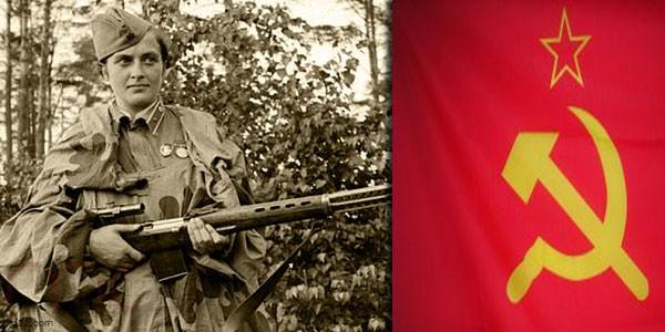 القناص السوفياتية ليدوميلا بافليتشنكو