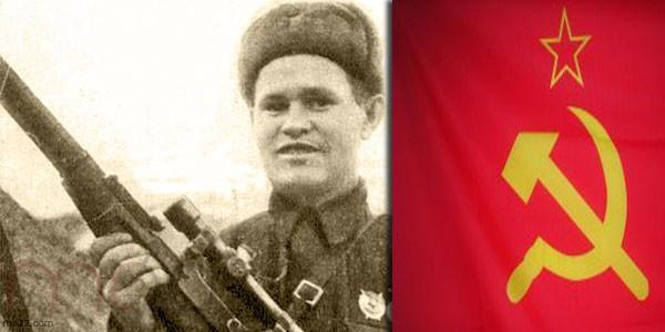 القناص السوفياتي فاسيلي غريغوريوفيتش زايتسيف