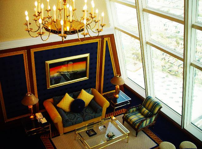 فندق برج العرب بدبي تميز،اناقة، فخامة وفرادة