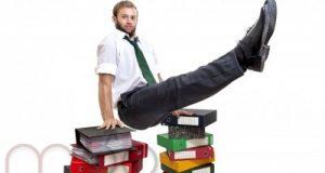 رجل الاعمال والعادات الغذائية السيئة - الرشاقة سر النجاح