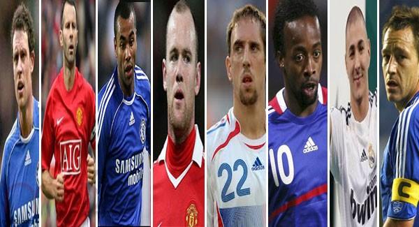 مشاهير كرة القدم و الفضيحة الجنسية