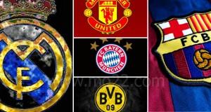أقوى 5 فرق كرة قدم عالمية