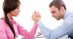 مبدأ المنافسة عند الرجل والمرأة