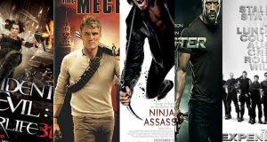 أفضل خمسة أفلام الحركة (الأكشن)