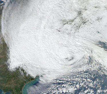 الإعصار ساندي